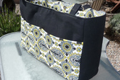 Diaper bag with divider