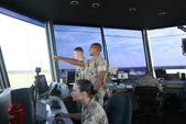 Air traffic controllers keep sky safe