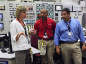 NRC Chairman Macfarlane tours North Anna Nuclear Plant in Virginia