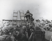 Marines Landing at Inchon, Korea, 15 September 1950
