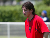 Soccer All Star Lionel Messi