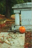 William Faulkner's grave, across the street from my apartment ('98 - '00))