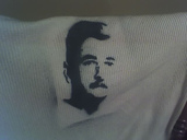 William Faulkner Stencil.  I don't know why.