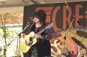 Ann Wilson performing at Creekstock, 2000