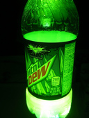 mountain dew glow experiment (4)